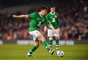 12 April 2019; Sean St Ledger of Republic of Ireland XI during the Sean Cox Fundraiser match between the Republic of Ireland XI and Liverpool FC Legends at the Aviva Stadium in Dublin. Photo by Sam Barnes/Sportsfile