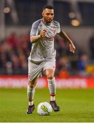 12 April 2019; Jermaine Pennant of Liverpool FC Legends during the Sean Cox Fundraiser match between the Republic of Ireland XI and Liverpool FC Legends at the Aviva Stadium in Dublin. Photo by Sam Barnes/Sportsfile