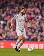 12 April 2019; Patrik Berger of Liverpool FC Legends during the Sean Cox Fundraiser match between the Republic of Ireland XI and Liverpool FC Legends at the Aviva Stadium in Dublin. Photo by Sam Barnes/Sportsfile