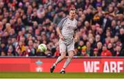 12 April 2019; Steve McManaman of Liverpool FC Legends during the Sean Cox Fundraiser match between the Republic of Ireland XI and Liverpool FC Legends at the Aviva Stadium in Dublin. Photo by Sam Barnes/Sportsfile
