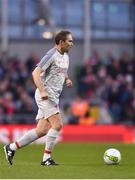 12 April 2019; Jason McAteer of Liverpool FC Legends during the Sean Cox Fundraiser match between the Republic of Ireland XI and Liverpool FC Legends at the Aviva Stadium in Dublin. Photo by Sam Barnes/Sportsfile