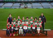 15 April 2019; The Kiltubrid team from Co. Leitrim during the LGFA U10 Go Games Activity Day at Croke Park in Dublin. Photo by Harry Murphy/Sportsfile