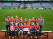 15 April 2019; The Elphin/Kilmore team from Co. Roscommon during the LGFA U10 Go Games Activity Day at Croke Park in Dublin. Photo by Harry Murphy/Sportsfile