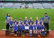 15 April 2019; The Four Masters team from, Co. Donegal during the LGFA U10 Go Games Activity Day at Croke Park in Dublin. Photo by Harry Murphy/Sportsfile