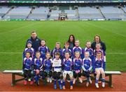 15 April 2019; The Tir na nÓg team from Co. Antrim during the LGFA U10 Go Games Activity Day at Croke Park in Dublin. Photo by Harry Murphy/Sportsfile