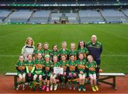 15 April 2019; The Ard an Rátha team from Co, Donegal during the LGFA U10 Go Games Activity Day at Croke Park in Dublin. Photo by Harry Murphy/Sportsfile