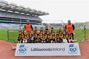 14 April 2019; The Castletown Geoghegan, Co Westmeath, team at the Littlewoods Ireland Go Games Provincial Days in Croke Park. This year over 6,000 boys and girls aged between six and twelve represented their clubs in a series of mini blitzes and just like their heroes got to play in Croke Park. Photo by Piaras Ó Mídheach/Sportsfile