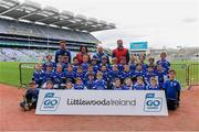 14 April 2019; The Skerries Harps, Co Dublin, team at the Littlewoods Ireland Go Games Provincial Days in Croke Park. This year over 6,000 boys and girls aged between six and twelve represented their clubs in a series of mini blitzes and just like their heroes got to play in Croke Park. Photo by Piaras Ó Mídheach/Sportsfile