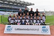 14 April 2019; The Dunderry, Co Meath, team at the Littlewoods Ireland Go Games Provincial Days in Croke Park. This year over 6,000 boys and girls aged between six and twelve represented their clubs in a series of mini blitzes and just like their heroes got to play in Croke Park. Photo by Piaras Ó Mídheach/Sportsfile