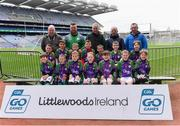 14 April 2019; The Setanta, Co Carlow, team at the Littlewoods Ireland Go Games Provincial Days in Croke Park. This year over 6,000 boys and girls aged between six and twelve represented their clubs in a series of mini blitzes and just like their heroes got to play in Croke Park. Photo by Piaras Ó Mídheach/Sportsfile