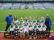 15 April 2019; The St Marys Rochfortbridge, team, Co. Westmeath, during the LGFA U10 Go Games Activity Day at Croke Park in Dublin. Photo by Harry Murphy/Sportsfile