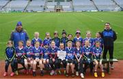 15 April 2019; The St Lomans team, Co. Westmeath during the LGFA U10 Go Games Activity Day at Croke Park in Dublin. Photo by Harry Murphy/Sportsfile