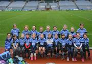 15 April 2019; The St Annes, Co. Wexford team during the LGFA U10 Go Games Activity Day at Croke Park in Dublin. Photo by Harry Murphy/Sportsfile
