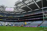 15 April 2019; A general view inside the stadium during the LGFA U10 Go Games Activity Day at Croke Park in Dublin. Photo by Harry Murphy/Sportsfile