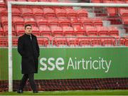 15 April 2019; Derry City manager Declan Devine  prior to the SSE Airtricity League Premier Division match between St Patrick's Athletic and Derry City at Richmond Park in Dublin. Photo by Seb Daly/Sportsfile
