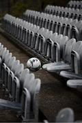 15 April 2019; A general view of seats in the away supporters section prior to the SSE Airtricity League Premier Division match between Dundalk and Bohemians at Oriel Park in Dundalk, Louth. Photo by Stephen McCarthy/Sportsfile