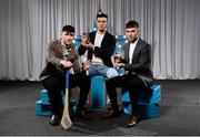 15 April 2019; Aaron Gillane, Thomas Grimes and Eoghan Cahill of Mary Immaculate College who were named in the Electric Ireland HE GAA Rising Star Hurling Team of the Year 2019. The Electric Ireland HE GAA Rising Star Awards was hosted by Electric Ireland Sigerson and Fitzgibbon winners UCC where the overall Footballer and Hurler of the Year were announced as well as the overall Football and Hurling team of the Year for the Electric Ireland Sigerson, Fitzgibbon and Higher Education Championships. #FirstClassRivals Photo by Diarmuid Greene/Sportsfile