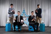 15 April 2019; Jarlath Óg Burns, Mark Reid, Shane McGuigan and Stephen McConville of St Mary's University Belfast who were named in the Electric Ireland HE GAA Rising Star Football Team of the Year 2019. The Electric Ireland HE GAA Rising Star Awards was hosted by Electric Ireland Sigerson and Fitzgibbon winners UCC where the overall Footballer and Hurler of the Year were announced as well as the overall Football and Hurling team of the Year for the Electric Ireland Sigerson, Fitzgibbon and Higher Education Championships. #FirstClassRivals Photo by Diarmuid Greene/Sportsfile