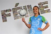 16 April 2019; John West Ambassador and Mayo Ladies Footballer Niamh Kelly in attendance at the launch of the 2019 John West Féile at Croke Park in Dublin. John West has been a sponsor of the Féile since 2016 and today announced it will continue its support for a further four seasons until 2022. John West is passionate about encouraging children to participate in Gaelic Games and puts an emphasis on the importance natural protein plays in fuelling young athletes #YourNaturalProteinPitstop. Photo by Sam Barnes/Sportsfile