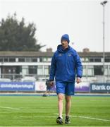 16 April 2019; Head coach Leo Cullen during Leinster squad training at Energia Park in Donnybrook, Co Dublin. Photo by David Fitzgerald/Sportsfile