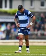 13 April 2019; Rey Lee-Lo of Cardiff Blues during the Guinness PRO14 Round 20 match between Connacht and Cardiff Blues at The Sportsground in Galway. Photo by Piaras Ó Mídheach/Sportsfile