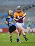 17 April 2019; Action from the game between Oranmore-Maree GAA, Co. Galway, and Kinvara GAA, Co. Galway, during the Littlewoods Ireland Go Games Provincial Days in Croke Park. This year over 6,000 boys and girls aged between six and twelve represented their clubs in a series of mini blitzes and – just like their heroes – got to play in Croke Park, Dublin. Photo by Seb Daly/Sportsfile