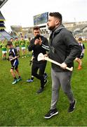 17 April 2019; The 2 Johnnies during the Littlewoods Ireland Go Games Provincial Days in Croke Park. This year over 6,000 boys and girls aged between six and twelve represented their clubs in a series of mini blitzes and – just like their heroes – got to play in Croke Park, Dublin. Photo by Seb Daly/Sportsfile