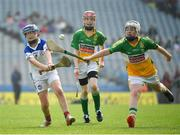18 April 2019; Darragh O Hora of Cappawhite GAA, Co. Tipperary, in action against Denis Fitzgerald of Bride Rovers GAA, Co. Cork, during the Littlewoods Ireland Go Games Provincial Days in Croke Park. This year over 6,000 boys and girls aged between six and twelve represented their clubs in a series of mini blitzes and – just like their heroes – got to play in Croke Park, Dublin. Photo by Seb Daly/Sportsfile