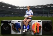 18 April 2019; Lauren Magee of Kilmacud Crokes GAA Club, Dublin, at the launch of the Beko Club Bua programme 2019, the quality mark for Leinster GAA clubs. For more information visit leinstergaa.ie/club-bua/. Photo by Stephen McCarthy/Sportsfile