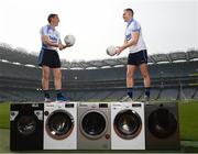 18 April 2019; Trevor Giles of Skyrne GAA Club, Meath, left, and Conor McGill of Ratoath GAA Club, Meath, at the launch of the Beko Club Bua programme 2019, the quality mark for Leinster GAA clubs. For more information visit leinstergaa.ie/club-bua/. Photo by Stephen McCarthy/Sportsfile