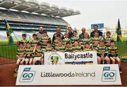 18 April 2019; Ballycastle Gaels, Co. Cork, during the Littlewoods Ireland Go Games Provincial Days in Croke Park. This year over 6,000 boys and girls aged between six and twelve represented their clubs in a series of mini blitzes and – just like their heroes – got to play in Croke Park, Dublin. Photo by Seb Daly/Sportsfile