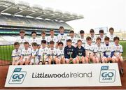 18 April 2019; St Mary's, Clonmel, Co. Tipperary, during the Littlewoods Ireland Go Games Provincial Days in Croke Park. This year over 6,000 boys and girls aged between six and twelve represented their clubs in a series of mini blitzes and – just like their heroes – got to play in Croke Park, Dublin. Photo by Seb Daly/Sportsfile