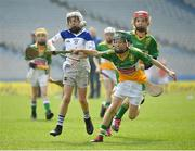 18 April 2019; Action from the game between Cappawhite GAA, Co. Tipperary, and Bride Rovers GAA, Co. Cork, during the Littlewoods Ireland Go Games Provincial Days in Croke Park. This year over 6,000 boys and girls aged between six and twelve represented their clubs in a series of mini blitzes and – just like their heroes – got to play in Croke Park, Dublin. Photo by Seb Daly/Sportsfile