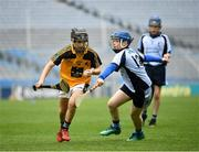 18 April 2019; Action from the game between Lismore GAA, Co. Waterford and Nenagh Éire Óg GAA, Co. Tipperary, during the Littlewoods Ireland Go Games Provincial Days in Croke Park. This year over 6,000 boys and girls aged between six and twelve represented their clubs in a series of mini blitzes and – just like their heroes – got to play in Croke Park, Dublin. Photo by Seb Daly/Sportsfile