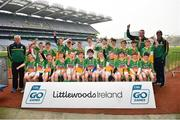 18 April 2019; Bride Rovers GAA, Co. Cork, during the Littlewoods Ireland Go Games Provincial Days in Croke Park. This year over 6,000 boys and girls aged between six and twelve represented their clubs in a series of mini blitzes and – just like their heroes – got to play in Croke Park, Dublin. Photo by Seb Daly/Sportsfile