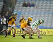 18 April 2019; Action from the game between Ballybrown GAA, Co. Limerick, and Lismore GAA, Co. Waterford, during the Littlewoods Ireland Go Games Provincial Days in Croke Park. This year over 6,000 boys and girls aged between six and twelve represented their clubs in a series of mini blitzes and – just like their heroes – got to play in Croke Park, Dublin. Photo by Seb Daly/Sportsfile