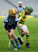 18 April 2019; Action from the game between Blackrock GAA, Co. Cork and Nenagh Éire Óg GAA, Co. Tipperary, during the Littlewoods Ireland Go Games Provincial Days in Croke Park. This year over 6,000 boys and girls aged between six and twelve represented their clubs in a series of mini blitzes and – just like their heroes – got to play in Croke Park, Dublin. Photo by Seb Daly/Sportsfile
