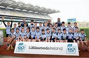 18 April 2019; Nenagh Éire Óg GAA, Co. Tipperary, during the Littlewoods Ireland Go Games Provincial Days in Croke Park. This year over 6,000 boys and girls aged between six and twelve represented their clubs in a series of mini blitzes and – just like their heroes – got to play in Croke Park, Dublin. Photo by Seb Daly/Sportsfile
