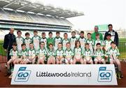 18 April 2019; Ballybrown GAA, Co. Limerick, during the Littlewoods Ireland Go Games Provincial Days in Croke Park. This year over 6,000 boys and girls aged between six and twelve represented their clubs in a series of mini blitzes and – just like their heroes – got to play in Croke Park, Dublin. Photo by Seb Daly/Sportsfile