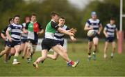 17 April 2019; Adam Treanor of Midlands during the U18 Bank of Ireland Leinster Rugby Shane Horgan Cup - Final Round match between North Midlands and Midlands at Cill Dara RFC in Dunmurray West, Kildare. Photo by Eóin Noonan/Sportsfile *** NO REPRODUCTION FEE ***