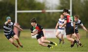 17 April 2019; Stephen Joyce of Midlands during the U18 Bank of Ireland Leinster Rugby Shane Horgan Cup - Final Round match between North Midlands and Midlands at Cill Dara RFC in Dunmurray West, Kildare. Photo by Eóin Noonan/Sportsfile *** NO REPRODUCTION FEE ***