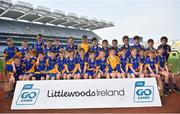18 April 2019; The Banner GAA, Ennis, Co. Clare during the Littlewoods Ireland Go Games Provincial Days in Croke Park. This year over 6,000 boys and girls aged between six and twelve represented their clubs in a series of mini blitzes and – just like their heroes – got to play in Croke Park, Dublin. Photo by Seb Daly/Sportsfile