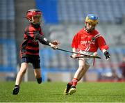 18 April 2019; Action from the match between Corofin, Co. Clare and Ballygunner, Co. Waterford, during the Littlewoods Ireland Go Games Provincial Days in Croke Park. This year over 6,000 boys and girls aged between six and twelve represented their clubs in a series of mini blitzes and – just like their heroes – got to play in Croke Park, Dublin. Photo by Seb Daly/Sportsfile