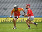 18 April 2019; Action from the game between Killenaule GAA, Co. Tipperary, and Corofin GAA, Co. Clare, during the Littlewoods Ireland Go Games Provincial Days in Croke Park. This year over 6,000 boys and girls aged between six and twelve represented their clubs in a series of mini blitzes and – just like their heroes – got to play in Croke Park, Dublin. Photo by Seb Daly/Sportsfile