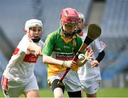 18 April 2019; Action from the game between Bride Rovers GAA, Co. Cork, and Da La Salle, Co. Waterford, during the Littlewoods Ireland Go Games Provincial Days in Croke Park. This year over 6,000 boys and girls aged between six and twelve represented their clubs in a series of mini blitzes and – just like their heroes – got to play in Croke Park, Dublin. Photo by Seb Daly/Sportsfile