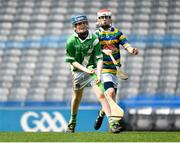 18 April 2019; Action from the game between Clonea GAA, Co. Waterford, and Ballycastle GAA, Co. Cork, during the Littlewoods Ireland Go Games Provincial Days in Croke Park. This year over 6,000 boys and girls aged between six and twelve represented their clubs in a series of mini blitzes and – just like their heroes – got to play in Croke Park, Dublin. Photo by Seb Daly/Sportsfile