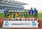 18 April 2019; Monagea GAA, Co. Limerick,  during the Littlewoods Ireland Go Games Provincial Days in Croke Park. This year over 6,000 boys and girls aged between six and twelve represented their clubs in a series of mini blitzes and – just like their heroes – got to play in Croke Park, Dublin. Photo by Seb Daly/Sportsfile
