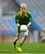 16 April 2019; Action from the game between Shannon Gaels, Roscommon and Salthill/ Knocknacarra, Galway at the Littlewoods Ireland Go Games Provincial Days in Croke Park. This year over 6,000 boys and girls aged between six and twelve represented their clubs in a series of mini blitzes and – just like their heroes – got to play in Croke Park, Dublin.  Photo by Eóin Noonan/Sportsfile