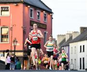 18 April 2019; Colm Fitzgerald of Portlaoise A.C., Co. Laois during the Kia Race Series Streets of Kilkenny 5k in Kilkenny City.  Photo by Harry Murphy/Sportsfile