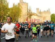 18 April 2019; A general view at the start of the Kia Race Series Streets of Kilkenny 5k in Kilkenny City.  Photo by Harry Murphy/Sportsfile